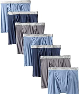 Fruit of the Loom Men's Boxer Brief (Pack of 7) Assorted Colors S