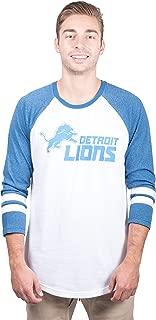 Ultra Game Men's T Raglan Baseball 3/4 Long Sleeve Tee Shirt
