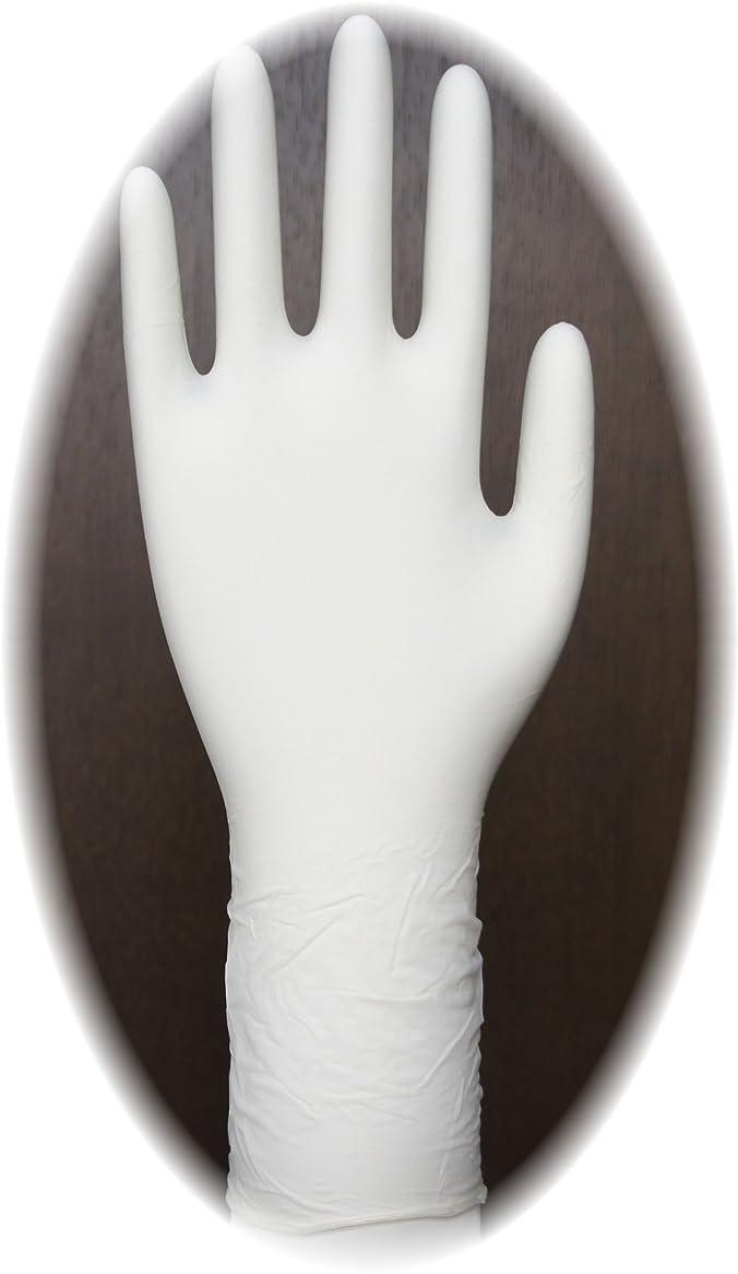 改修保守可能供給三高サプライ ニトリル手袋 クラス100 クリアグリップ ロング(半透明) GN09 100枚入り M