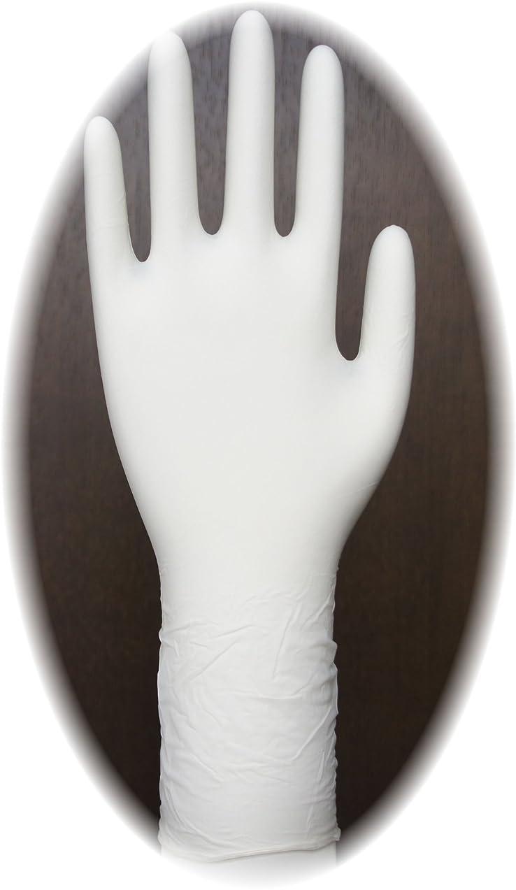 スペア起こるマトン三高サプライ ニトリル手袋 クラス100 クリアグリップ ロング(半透明) GN09 100枚入り S