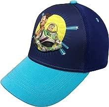 Disney Pixar Toy Story 4 Boys 3D Baseball Cap with Tom Hanks and Tim Allen Age 4-7 Blue