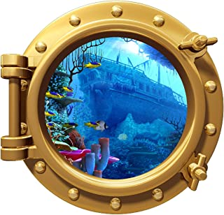 pirate ship porthole