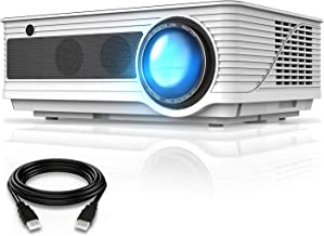 """VIVIMAGE Cinemoon 580 Projector1080P Supported, 4000 Lux High Brightness Video Projector with 200"""" Projection Size Include..."""