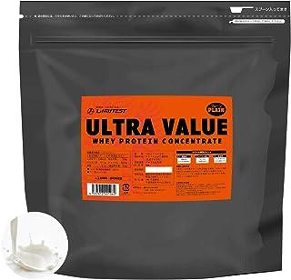 リミテスト ホエイ プロテイン 工場直販 無添加 国産 ULTRA VALUE ウルトラバリュー 3kg 約86食分 LIMITEST (プレーン, 3kg)