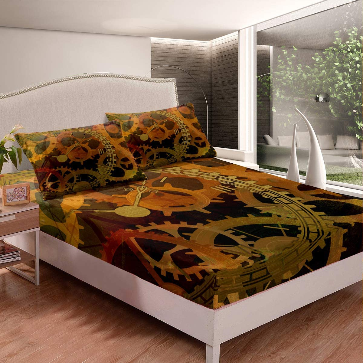 Gear Collections Boys Girls Bed Rare Duv Milwaukee Mall Kids Printed Full Sheet