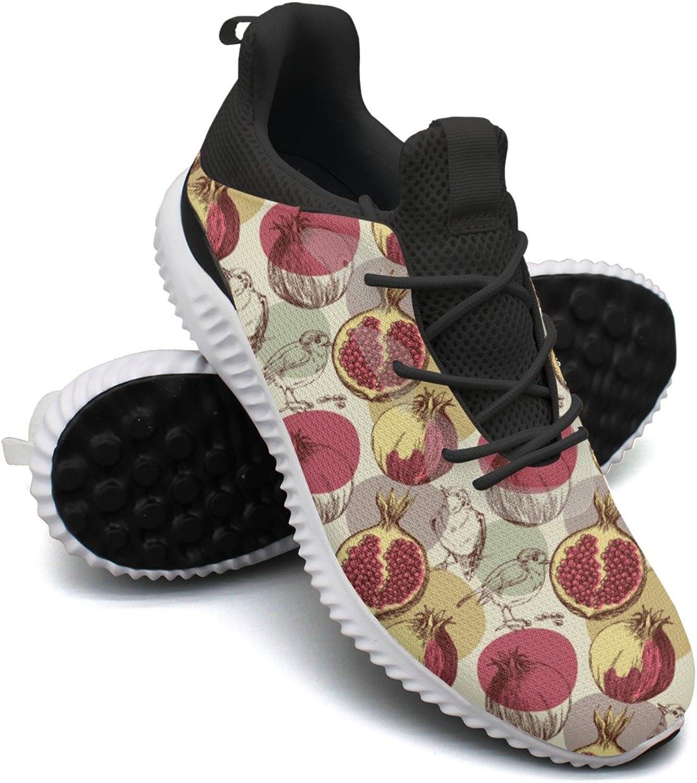blueeberry Pomegranate Leisure Design Running shoes Mens Net Unique Active