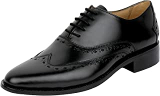 Wingtip Oxford Goodyear Welted Formal Handmade Leather Dress Shoes