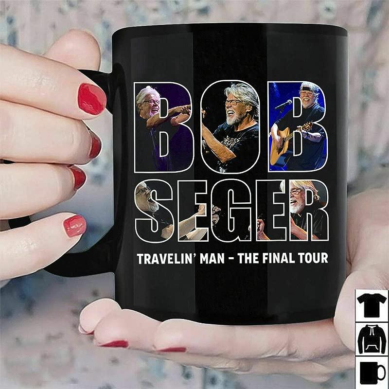 Bob Seger Travelin Man The Final Tour Muqs 11OZ Coffee Mug