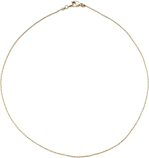 Thin Ball Chain Choker Necklace in Gold, Rose Gold, or Silver | Minimalist, Delicate Jewelry