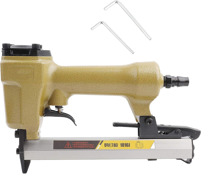 Pistola de clavos de aire, clavo neumático, herramienta de carpintería 60-100psi Pistola de clavos neumática en forma de U 1/4