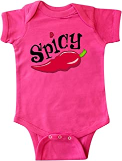inktastic Spicy- Hot Chili Pepper Infant Creeper