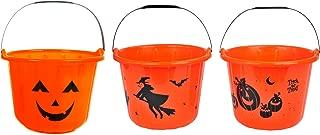 black pumpkin pail