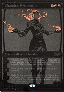 Magic: the Gathering SDCC 2014 Exclusive Foil Planeswalker Chandra Pyromaster Card