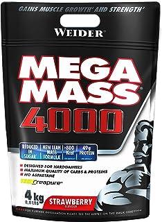 Weider Mega Mass 4000 - 4 kg aardbei