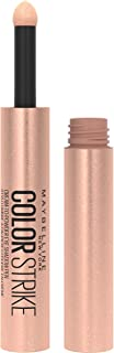 Maybelline Color Strike Eye Shadow Pen, Cream To Powder Finish, Full Coverage Pigments, Crease-Resistant, Smudge-Resistant Eye Makeup, Spark, 0.012 Fl Oz