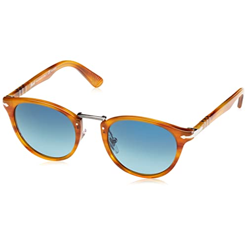 Persol 0Po3108S 960 S3 49, Occhiali da Sole Uomo, Marrone (Striped Brown 650be0dab385