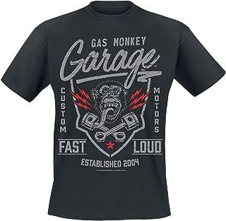 T Shirt Fast N Loud Logo Official Mens Black