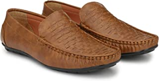 LAWMAN PG3 Loafer, Casual Shoes, Senaker, Slip on Loafer, Brown Loafer, Synthetic Loafer, Loafer for Men