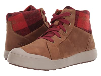 Keen Elena Mid (Thrush/Plaid) Women