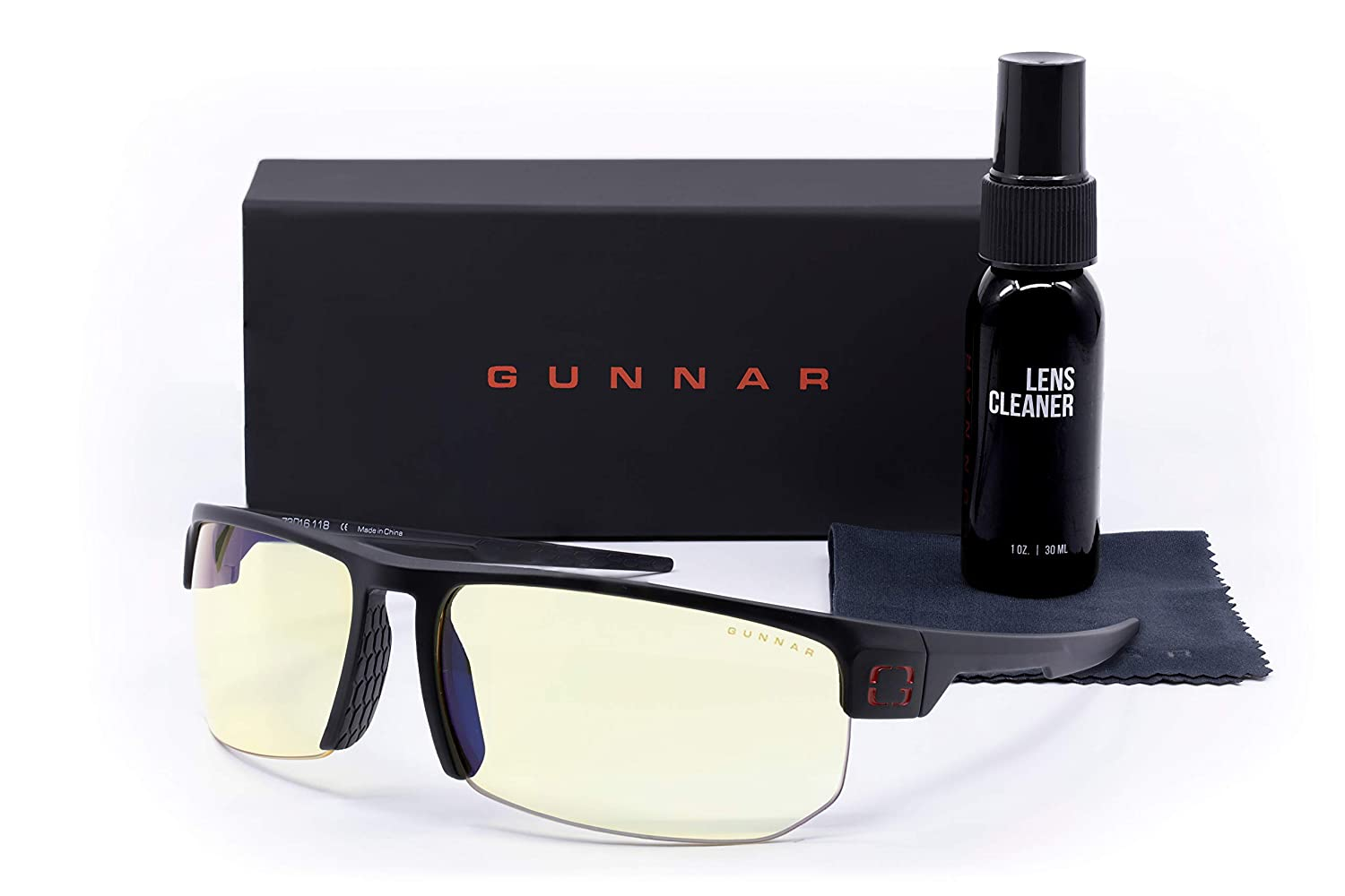 GUNNAR Gaming Popularity Glasses Torpedo Bundle Cleaner Includes Case Max 43% OFF wit