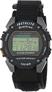 armitron all sport digital instalite watch instructions
