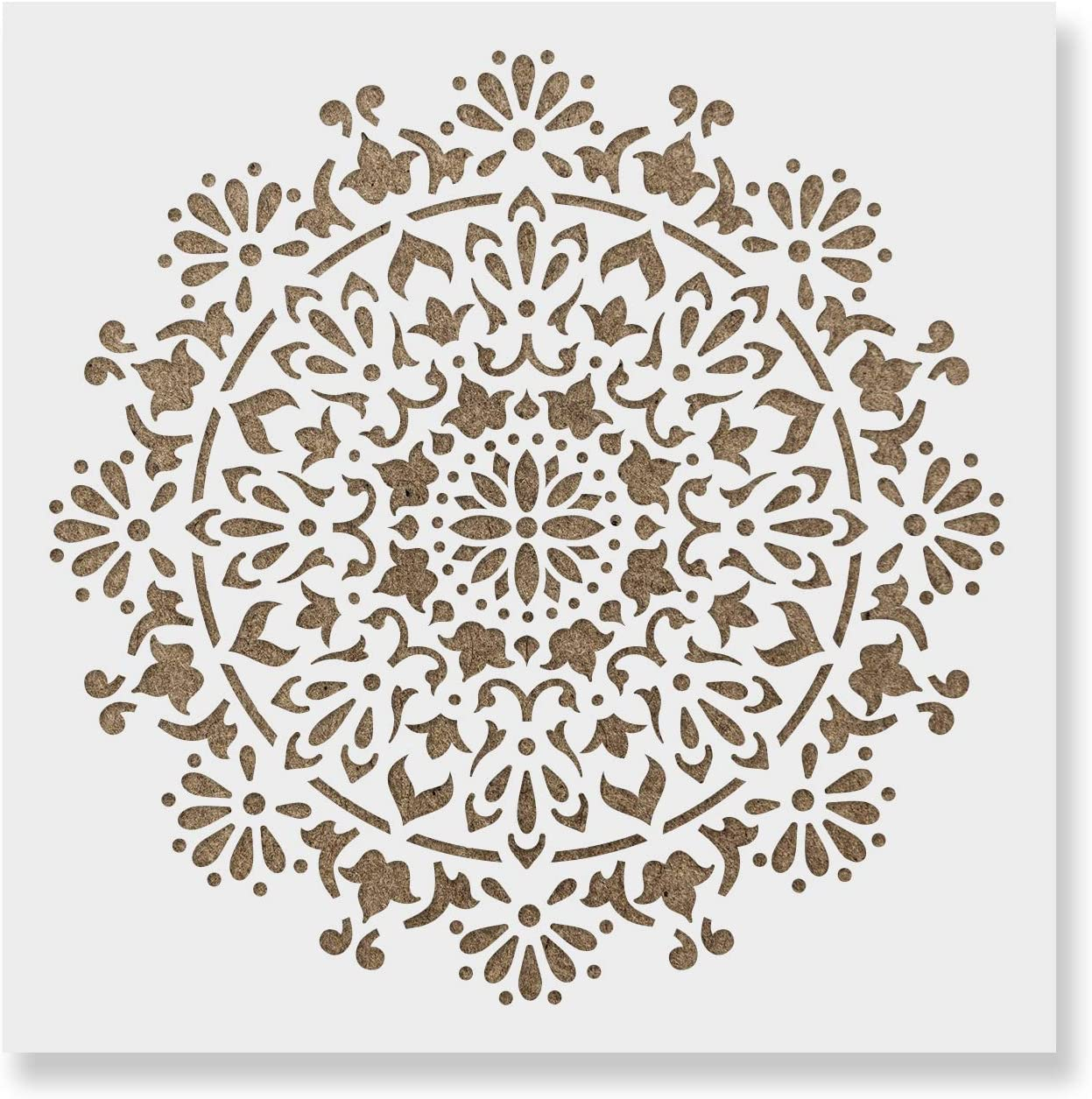 Bliss Mandala Stencil Template for Walls Crafts Reusable - S Seasonal Wrap Introduction Dallas Mall and