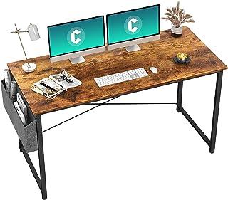 HOMIDEC Bureau d'ordinateur,Table d'étude,Table Informatique , Poste de Travail pour Bureau, Salon, Chambre,Assemblage Sim...
