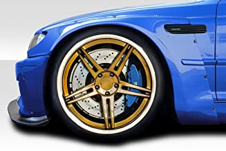 Extreme Dimensions Duraflex Replacement for 2001-2006 BMW M3 E46 Circuit Front Fender Flares - 4 Piece