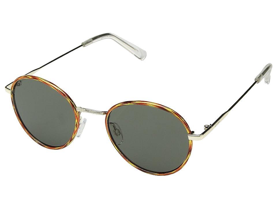 Le Specs Zephyr Deux (Vintage Tortoise/Khaki Mono) Fashion Sunglasses