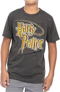 Logo Wand Youth T-Shirt, Dark Gray Heather, Medium (8)
