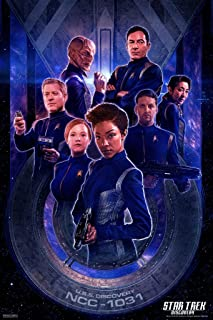 Pyramid America Star Trek Discovery Discovery Crew Cool Wall Decor Art Print Poster 12x18