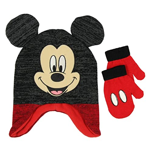 4c714f10eb2 Mickey Mouse Baby Toddler Boys Winter Hat   Mitten Set