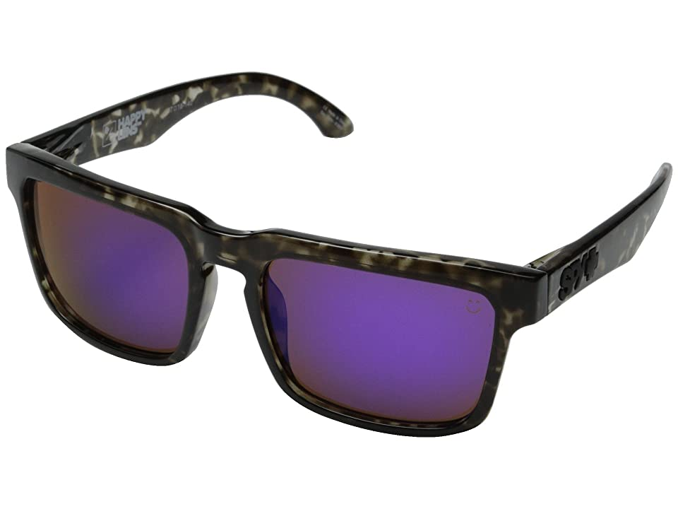 Spy Optic Helm (Smoke Tort/Happy Bronze w/ Purple Spectra) Fashion Sunglasses