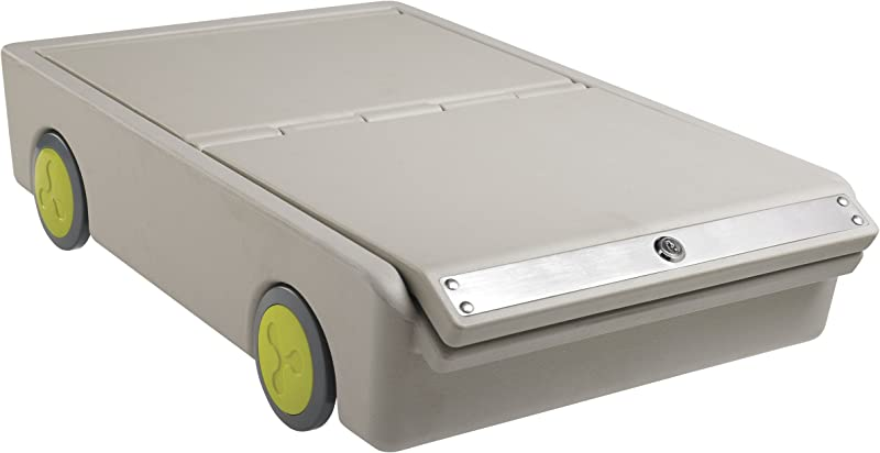 ECR4Kids Lock And Roll Portable Under Bed Personal Safe
