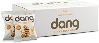 Dang Sticky-Rice Chips, Gluten-Free, Vegan, Non-GMO, Original Recipe, 0.7 Ounce (24 Count)