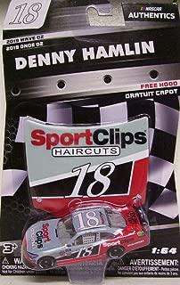 NASCAR Authentics 2019 Wave 2 Denny Hamlin Sport Clips Xfinity Car 1/64 Die-Cast