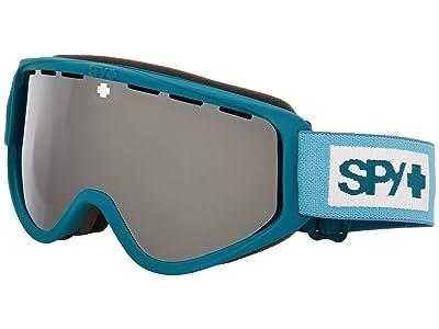 Spy Optic Woot (Colorblock Teal Hd Bronze w/ Silver Spectra Mirror + Hd Ll Per) Goggles