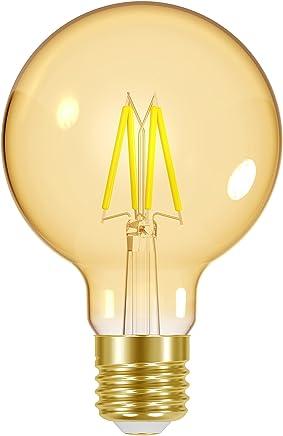 Lâmpada LED Filamento Vintage Dim Globo E27, 4W, Ambar Taschibra G80 11080390