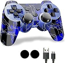 Controlador PS3 inalámbrico, mandos a distancia PS3 (azul)