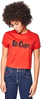 Lee Cooper Women's LC Cropped Tee T-Shirt