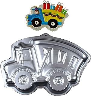 wotoy 13 inch 3D Truck Aluminum Cake Baking Pan Mold