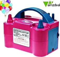 Amzdeal® Pompa a palloncino gonfiabile è un buon assistente festa di compleanno e cerimonia di nozze. Built-in motore.