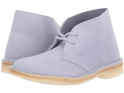 Clarks Desert Boot (Cool Blue Suede) Women