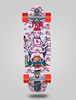TXIN - Surfskate with Glutier T12 Trucks Surf Skate Adicc...