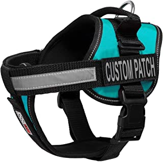 Dogline Unimax Multi-Purpose Vest Harness for Dogs and 2 Removable Custom Patches