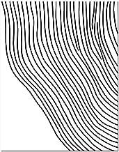 Impresiones Sobre Lienzo,Resumen De Líneas Geométricas Sin Marco Pintura Pared La Impresión De La Imagen, Home Decor Gift Piece, Para Bar, Hotel,Salon,Dormitorio,Baño,Comedor Decoracion(Sin M