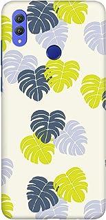 Stylizedd Huawei Honor 8X Slim Snap Basic Case Cover Matte Finish - Island Leaves