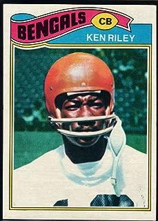 Football NFL 1977 Topps #365 Ken Riley Bengals
