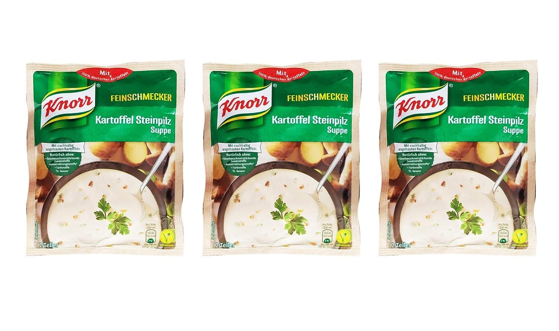 Knorr Feinschmecker Kartoffel Steinpilz Suppe - Baltimore Mall P Gourmet New item German