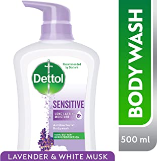 Dettol Sensitive Anti-Bacterial Body Wash 500ml